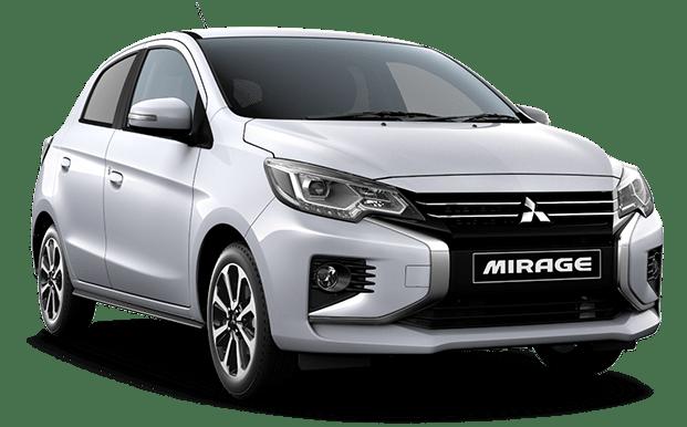 Mitsubishi Mirage plateado - Mitsubishi Costa Rica