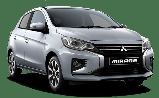 Mitsubishi Mirage gris claro - Mitsubishi Costa Rica