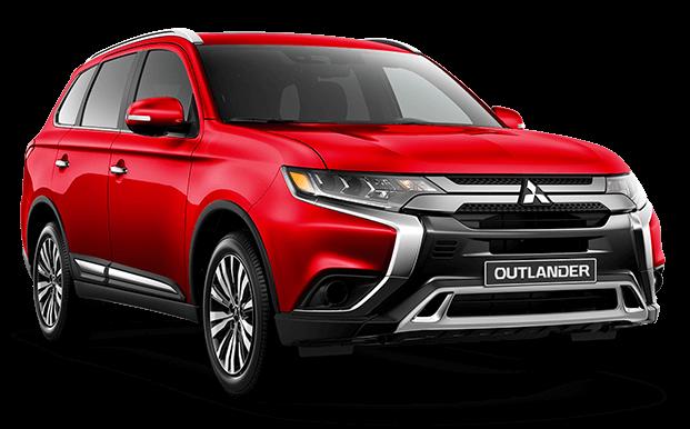 Outlander rojo - Mitsubishi Costa Rica