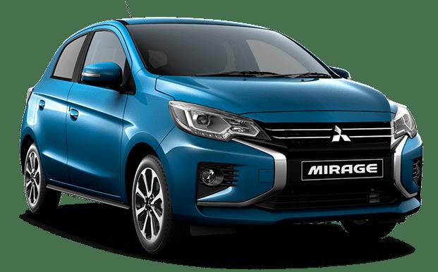 Mitsubishi Mirage turqueza - Mitsubishi Costa Rica
