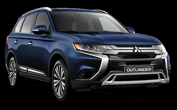 Outlander azul - Mitsubishi Costa Rica