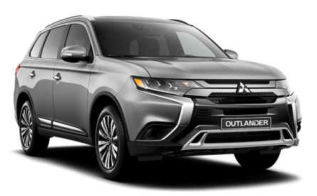 Outlander frontal - Mitsubishi Costa Rica