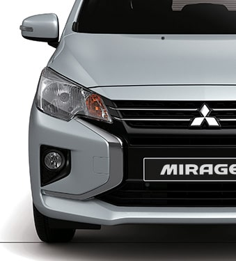 Mitsubishi Mirage vista delantera - Mitsubishi Costa Rica