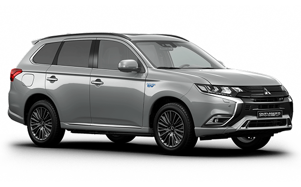 Outlander PHEV gris claro - Mitsubishi Costa Rica