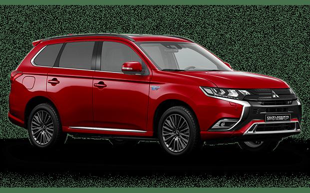 Outlander PHEV rojo - Mitsubishi Costa Rica