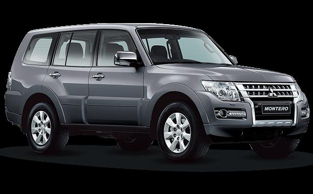 Mitsubishi Montero Wagon gris oscuro - Mitsubishi Motors