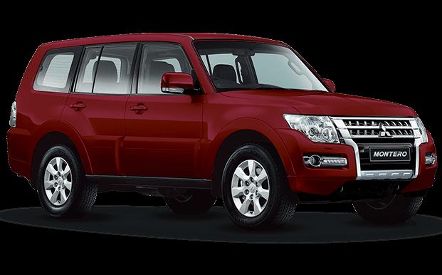 Mitsubishi Montero Wagon rojo - Mitsubishi Motors