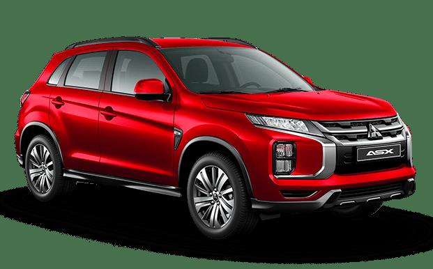 Mitsubishi ASX rojo - Mitsubishi Costa Rica