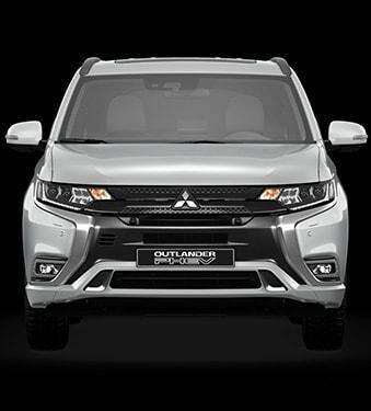 Outlander PHEV vista frontal - Mitsubishi Costa Rica