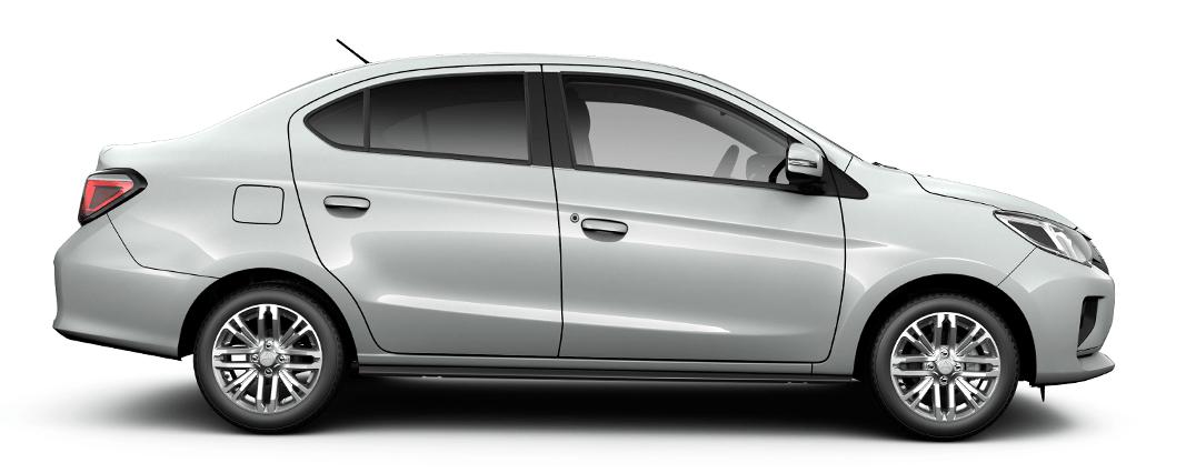 Mitsubishi Mirage G4 vista lateral - Mitsubishi Costa Rica