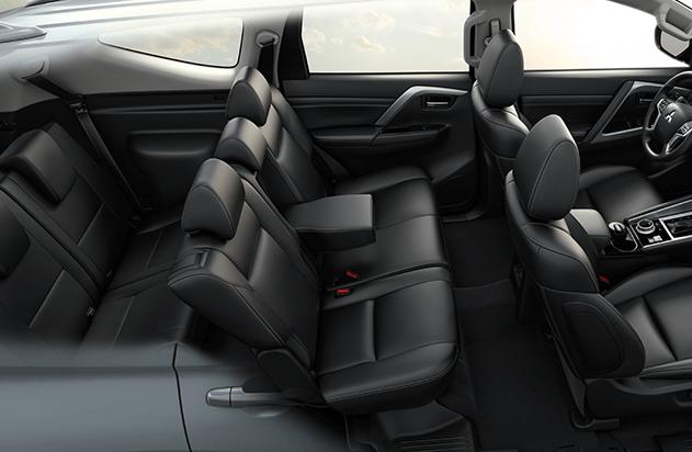 Mitsubishi Montero Sport asientos - Mitsubishi Costa Rica