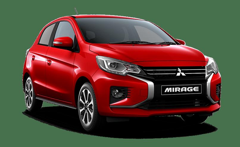 Mitsubishi Mirage Rojo - Mitsubishi Costa Rica